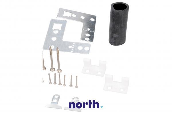 Uchwyt | Mocowanie frontu meblowego drzwi zawiasów do zmywarki Siemens 00165737,2