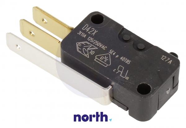Przełącznik   Mikroprzełącznik D42X hydrostatu do zmywarki Siemens 00165256,0
