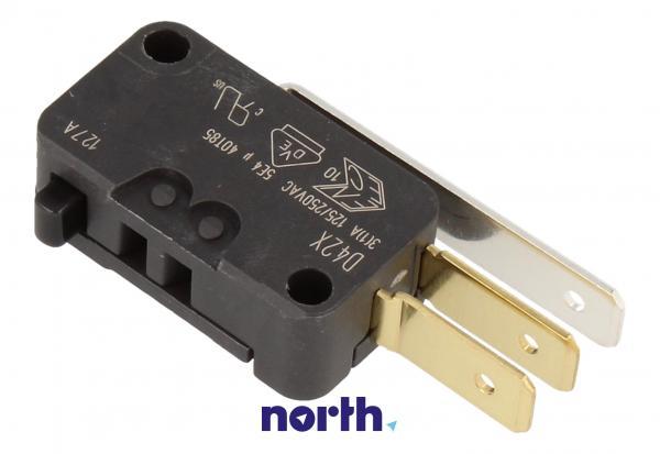 Przełącznik   Mikroprzełącznik D42X hydrostatu do zmywarki Siemens 00165256,1