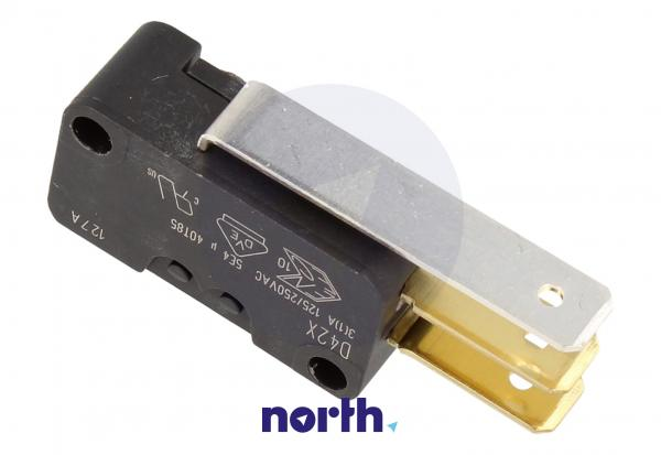 Przełącznik   Mikroprzełącznik D42X hydrostatu do zmywarki Siemens 00165256,2