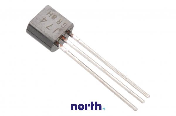 2SJ74 Tranzystor TO-92 (p-channel) 25V 0.01A 500MHz,1
