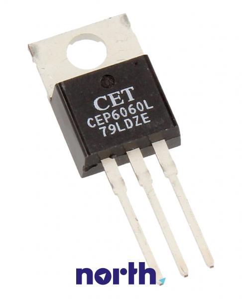 CEP6060R Tranzystor TO-220 (N-channel) 60V 60A,0