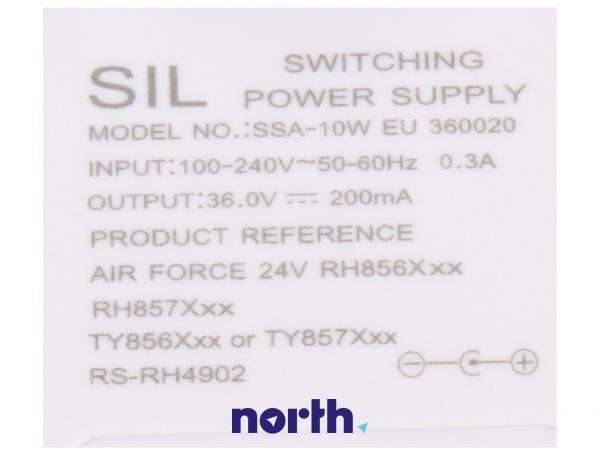 Ładowarka do odkurzacza - oryginał: RS-RH4902,3