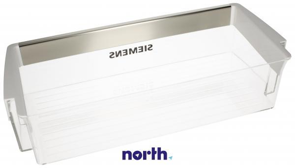 Balkonik   Półka na drzwi chłodziarki do lodówki Siemens 00673522,1