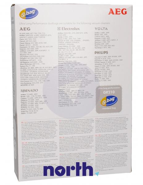Worki S-Bag GR210 (3szt.) do odkurzacza 9001660407,1