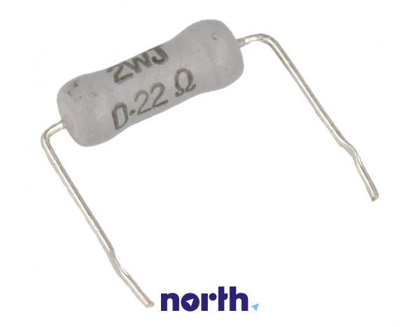 0.22R   2W   Rezystor metalizowany,0