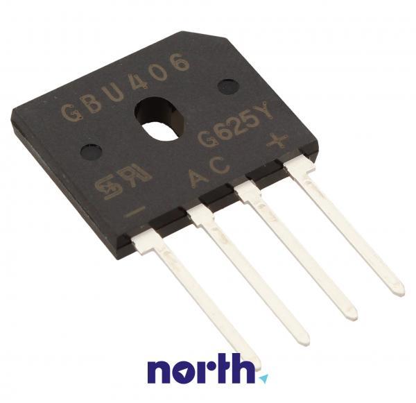 GBU406C2 Mostek prostowniczy 800V 4A,0