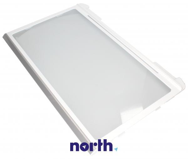 Szyba | Półka szklana kompletna / górna do lodówki FTNAA512CBKZ,0