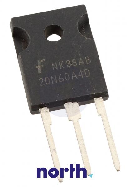 20N60A4D Tranzystor TO-247 (n-channel) 600V 40A 83MHz,0