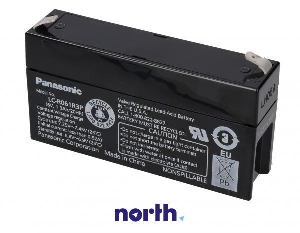 LCR061R3PG Akumulator UPS 6V 1300mAh Panasonic (1szt.),0