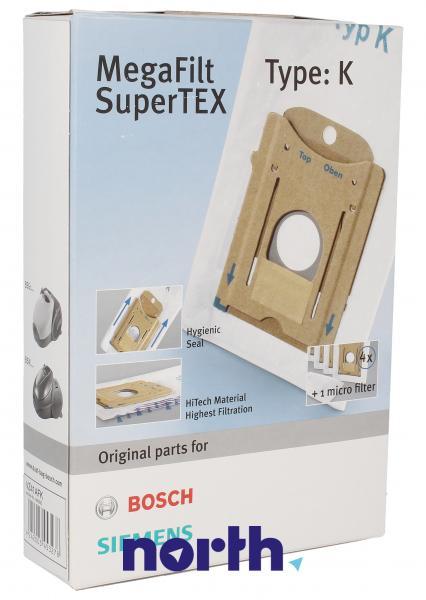 Worek do odkurzacza BBZ41FK Siemens 4szt. (+mikrofiltr) 00468265,0