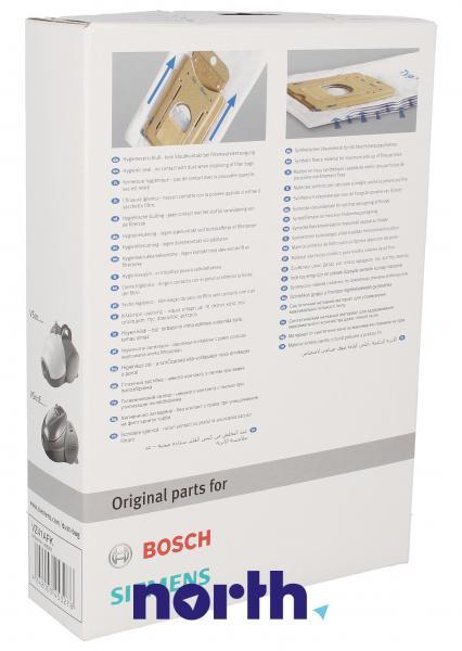 Worek BBZ41FK mikrofiltr do odkurzacza 4szt. - oryginał: 00468265,1