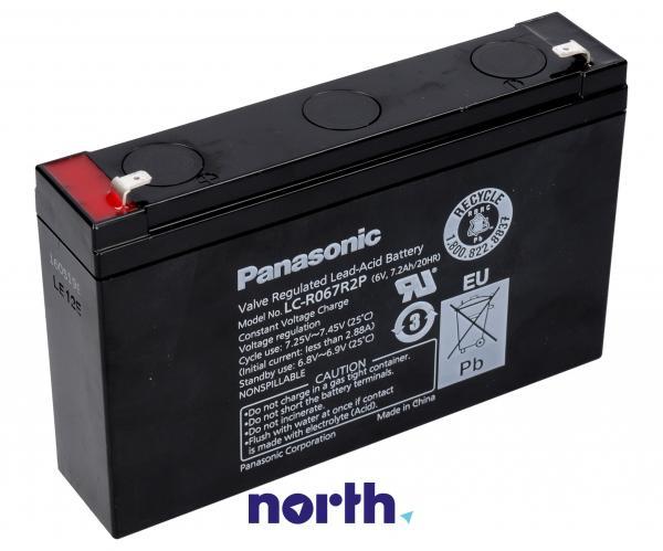 LCR067R2PG Akumulator UPS 6V 7200mAh Panasonic (1szt.),0