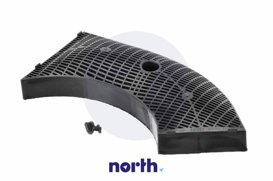 Filtr węglowy aktywny w obudowie do okapu 00647277,2