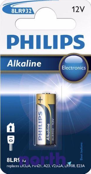A23 | 8LR932 | V23GA Bateria alkaliczna 12V Philips (1szt.),0