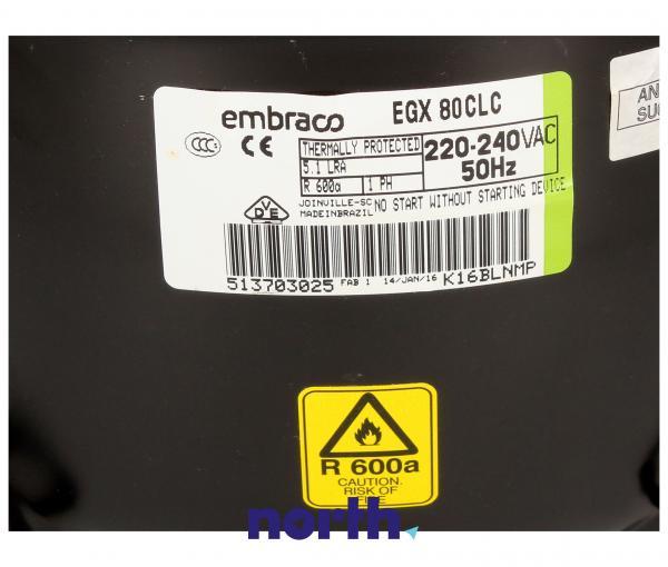 Sprężarka | Kompresor lodówki PCMPLA296CBZZ (agregat),2