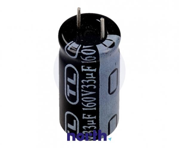 33uF   160V Kondensator elektrolityczny 85°C 30000388,0