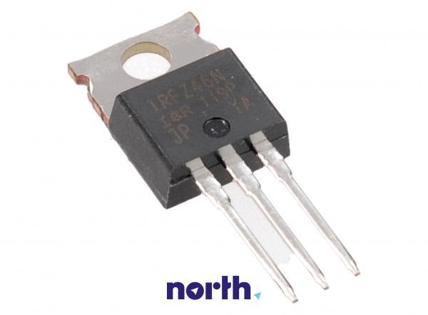 IRFZ46N Tranzystor MOS-FET TO-220 (n-channel) 55V 53A 13MHz,0
