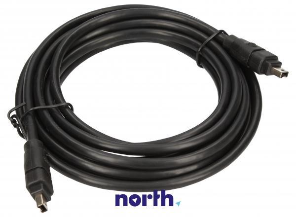 Kabel FireWire 4 pin 3m (wtyk/ wtyk),0
