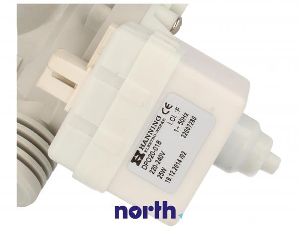 Pompa odpływowa kompletna (4055024477) do pralki Electrolux/AEG DPO20018,4