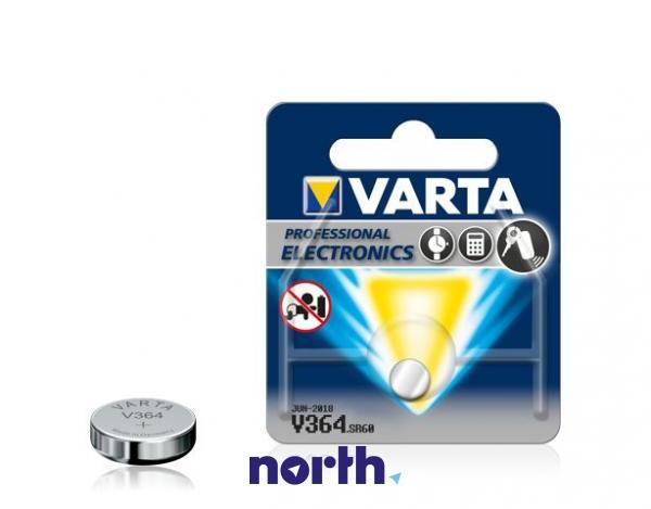 V364 | SR60 | 364 Bateria srebrowa 1.55V 20mAh Varta,0
