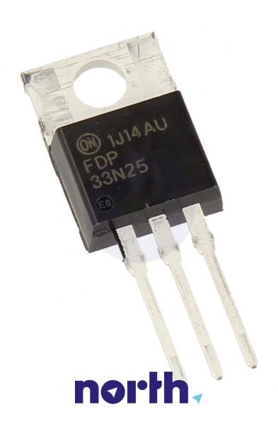 FDP33N25 Tranzystor MOS-FET TO-220 (n-channel) 250V 33A 4MHz,0