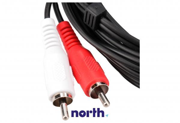 Kabel CINCH 2.5m (wtyk x2/ wtyk x2) standard,1