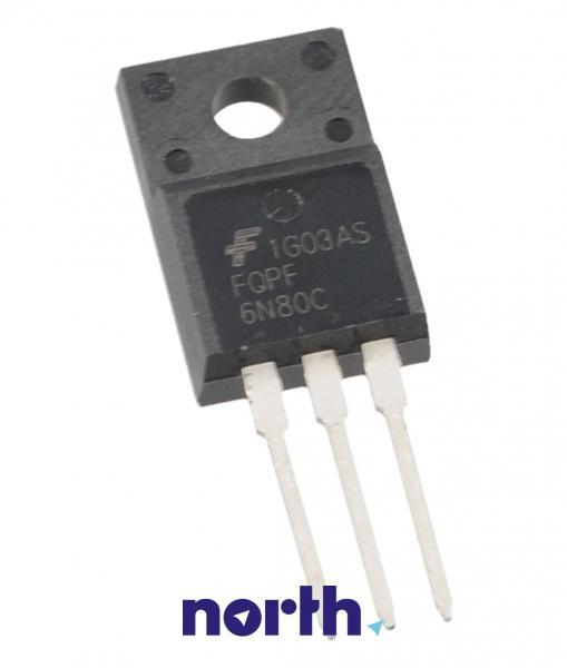 FQPF6N80C Tranzystor MOS-FET TO-220F (n-channel) 800V 5.5A 15MHz,0