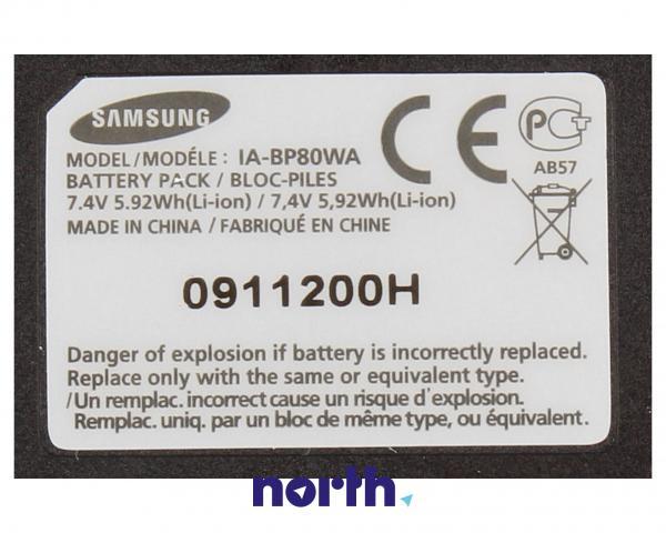 IA-BP80WA Bateria | Akumulator 7.4V 800mAh do kamery Samsung AD4300189A,3