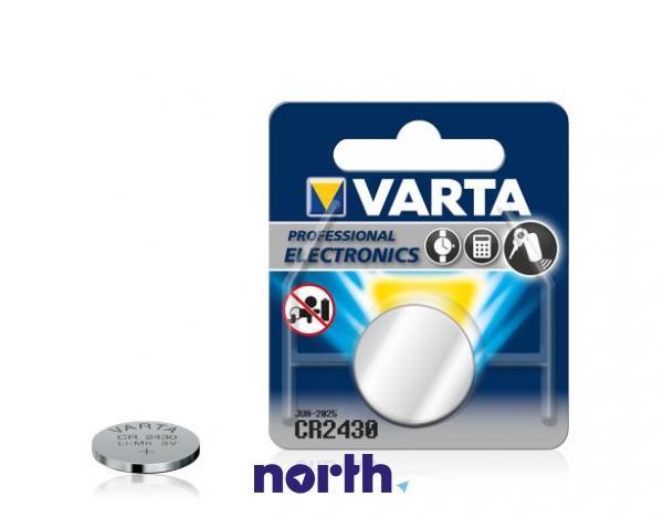 CR2430 | DL2430 | Bateria 3V 280mAh Varta,0