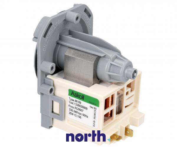 Silnik pompy odpływowej do pralki AEG 1326630009,1