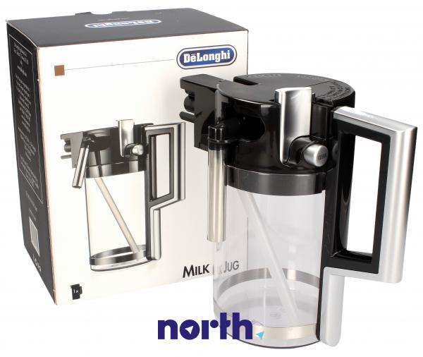 Dzbanek | Pojemnik na mleko ESAM6600 (kompletny) do ekspresu do kawy DeLonghi 5513211641,0