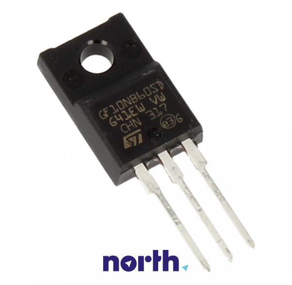STGF10NB60SD Tranzystor TO-220FP (N-Channel) 600V 20A,0