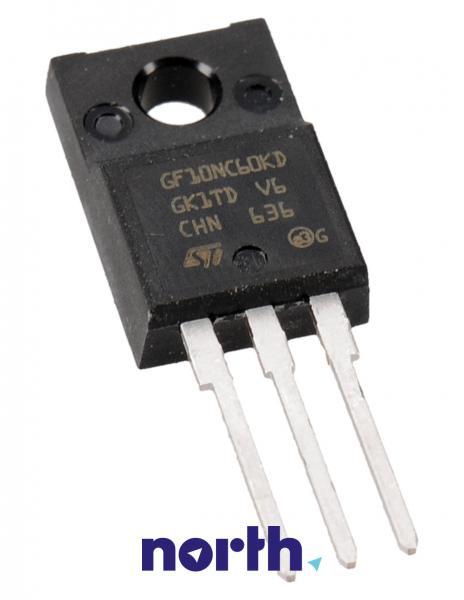 STGF10NC60KD Tranzystor TO-220FP (n-channel) 600V 9A 166MHz,0