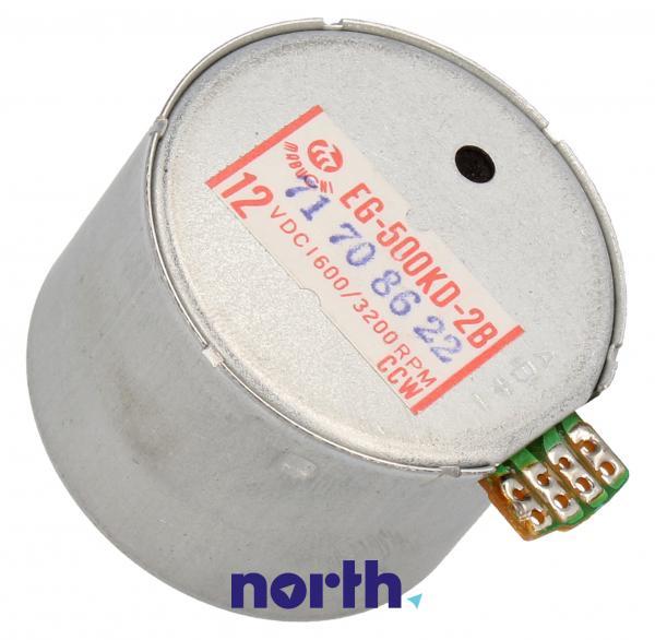 EG500KD2B Silnik 12V 1600 / 3200 RPM, CCW 8MM ACHSE MABUCHI,1