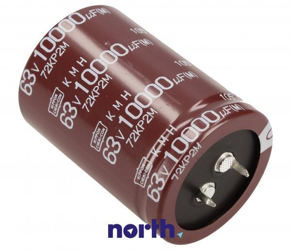 10000uF   63V Kondensator elektrolityczny 105C Nippon Chemi-Con EKMH630VSN103MA50S 57mm/35mm,0