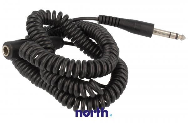 Kabel Jack 6,3mm stereo 5m (wtyk/ gniazdo) standard,0