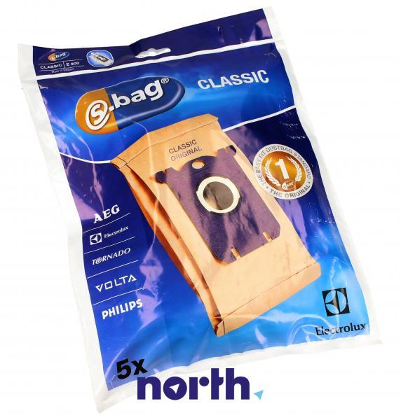 Worki S-Bag E200 (5szt.) do odkurzacza 9000844804,1
