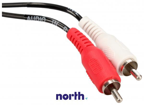 Kabel 1.5m SCART - SCART (wtyk//CINCH wtyk/wtyk x2) standard,2
