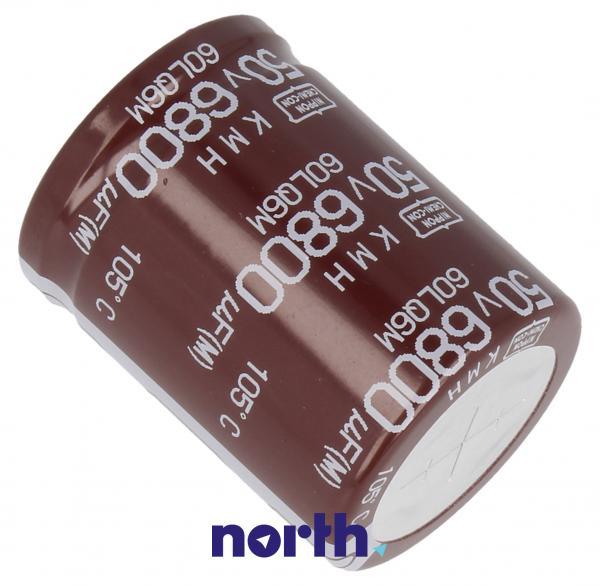 6800uF   50V Kondensator elektrolityczny 105C EKMH500VSN682MR40S 40mm/30mm,1