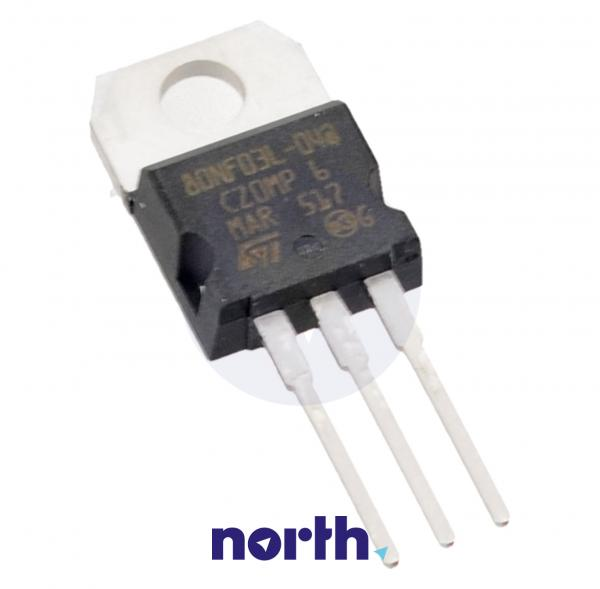 STP80NF03L-04 Tranzystor MOS-FET TO-220 (n-channel) 30V 80A 3MHz,0