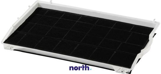 Filtr węglowy DHZ1100 aktywny w obudowie do okapu Siemens 00460736,1