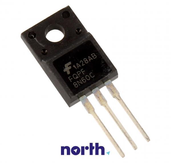 FQPF8N60C Tranzystor MOS-FET TO-220 (n-channel) 600V 6.26A 16MHz,0