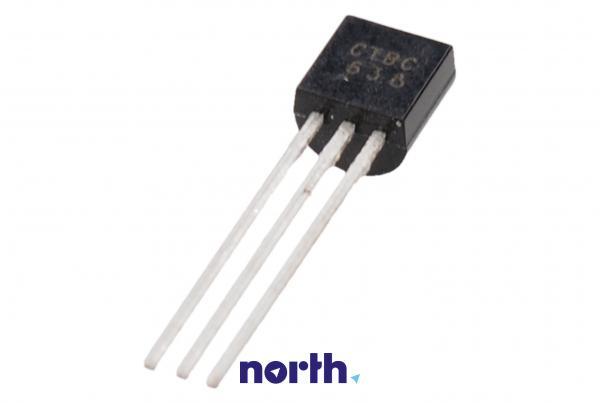 BC638 Tranzystor TO-92 (pnp) 60V 1A 100MHz,0