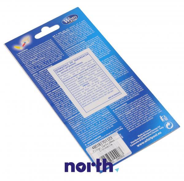 Wkład zapachowy ACT001 (cytrynowy) 5szt. Wpro do odkurzacza 481981729322,1