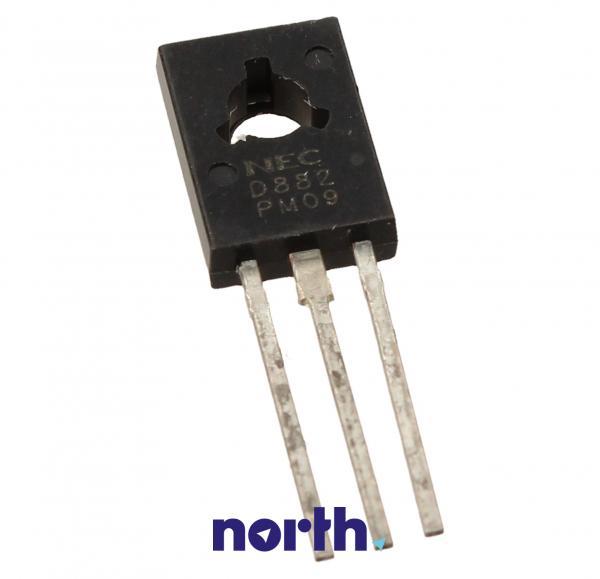 2SD882 Tranzystor TO-126 (npn) 30V 3A 90MHz,0