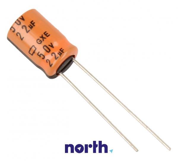 22uF | 50V Kondensator elektrolityczny 125C EGXE500ELL220MH12D 12.5mm/8mm,0
