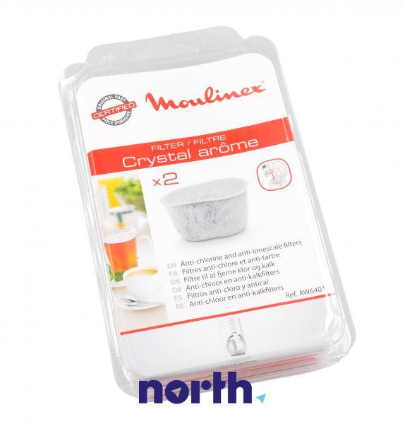 Filtr wody do ekspresu do kawy Moulinex AW6401 2szt.,0
