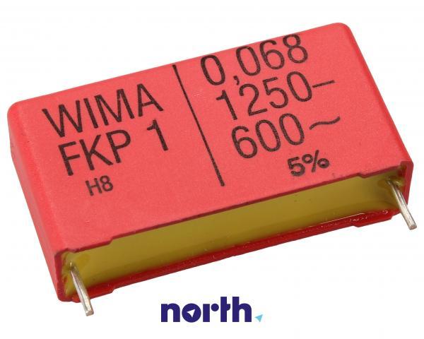 68nF | 1250V Kondensator impulsowy FKP1 WIMA 22mm,0