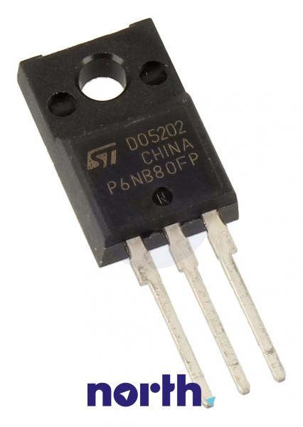 STP6NB80FP Tranzystor TO-220 (n-channel) 800V 5.7A 110MHz,0